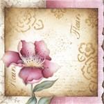 Papel Scrap Decor 16,5x16,5 Flores Lscp-005 - Litoarte