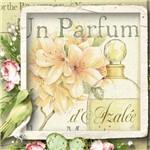 Papel Scrap Decor Folha Simples 15x15 Perfume Lscxv-009 - Litoarte