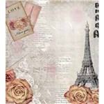 Papel Scrap Decor Xx Folha Simples 20x20 Paris Lscxx-012 - Litocart