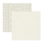 Papel Scrapbook Básico Multitons - KFSB520 - Areia Corações e Poa - Toke e Crie