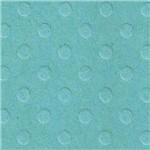 Papel Scrapbook Cardstock PCAR465 Bolinhas II Verde Água