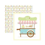 Papel Scrapbook DF - SDF657 - Sweet Candy Guirlanda