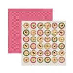 Papel Scrapbook DF SDF669 Encantamento Selos