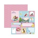 Papel Scrapbook DF - SDFD0 Princesa Sofia 1 Formi e Toppers
