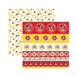 Papel Scrapbook DF - SDFD005 - Minnie Mouse 1 Selos e Tags