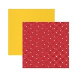 Papel Scrapbook DF SDFD006 Minnie 1 Estampado