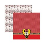 Papel Scrapbook DF SDFD008 Mickey 2 Barrado