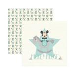 Papel Scrapbook DF - SDFD031 - Baby Mickey 1 Guirlanda