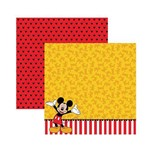 Papel Scrapbook DF - SDFD018 - Mickey 2 Barrado
