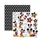 Papel Scrapbook DF - SDFD019 - Mickey Mouse 2 Recortes