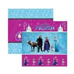 Papel Scrapbook DF - SDFD042 Frozen 1 Cenário e Bandeirolas