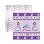 Papel Scrapbook DF SDFD049 Princesa Sofia 1 Fitas e Rótulos