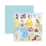 Papel Scrapbook DF - SDFD054 - Princesa 2 Recortes
