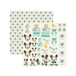 Papel Scrapbook DF - SDFD039 - Baby Mickey 2 Recortes