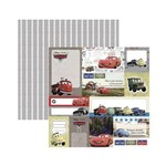 Papel Scrapbook DF - SDFD094 - Carros 2 Tags - Toke e Crie