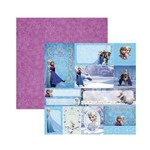 Papel Scrapbook DF - SDFD102 - Frozen 2 Tags - Toke e Crie