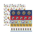 Papel Scrapbook DF SDFD121 a Casa do Mickey 1 Selos e Tags