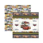 Papel Scrapbook DF - SDFD113 - Carros 1 Fitas e Rótulos