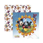 Papel Scrapbook DF - SDFD117 - a Casa do Mickey 1 Guirlanda