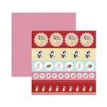 Papel Scrapbook DF - SDFD79 - Branca de Neve 1 Selos e Tags