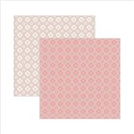 Papel Scrapbook Dupla Face Clássico Texturizado Rosa Nobre Ksbc009 - Toke e Crie By Ivana Madi