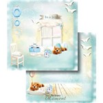 Papel Scrapbook Dupla Face Moment Boy Lscd-354 - Litocart