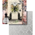 Papel Scrapbook Dupla Face Time To Love Paris Lscd-348 - Litocart