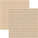 Papel Scrapbook Duplo Multitons Xadrez Marrom Kfsb369 By Vlady – Toke e Crie