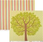 Papel Scrapbook Família Árvore Sdf577 - Toke e Crie By Flavia Terzi
