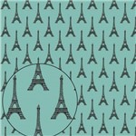 Papel Scrapbook Folha Simples 30,5x30,5cm Torre Eiffel Lsc-283 - Litocart