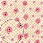Papel Scrapbook Folha Simples Flores LSC229 - Litocart