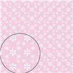 Papel Scrapbook Folha Simples Pistilo Rosa Lsc-236 - Litocart