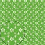 Papel Scrapbook Folha Simples Pistilo Verde LSC-234 - Litocart