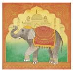 Papel Scrapbook Hot Stamping Litoarte SEH-015 30,5x30,5cm Elefante Indiano