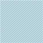 Papel Scrapbook Hot Stamping Litoarte SH30-020 30x30cm Listras Diagonais Azul