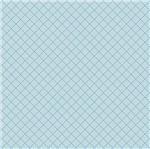 Papel Scrapbook Hot Stamping Litoarte SH30-030 30x30cm Xadrez Azul