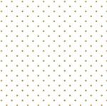 Papel Scrapbook Hot Stamping Litoarte SH30-009 30x30cm Poá Dourado Fundo Branco