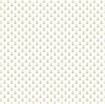 Papel Scrapbook Hot Stamping Litoarte SH30-021 30x30cm Âncoras Dourado Fundo Branco