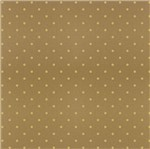 Papel Scrapbook Hot Stamping Litoarte SH30-010 30x30cm Poá Dourado Fundo Marrom