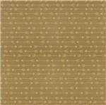 Papel Scrapbook Hot Stamping Litoarte SH30-043 30x30cm Flechas Dourado Fundo Marrom