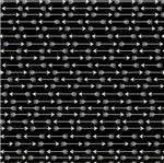 Papel Scrapbook Hot Stamping Litoarte SH30-045 30x30cm Flechas Prata Fundo Preto