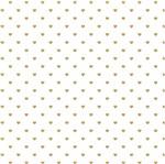 Papel Scrapbook Hot Stamping Litoarte SH30-047 30x30cm Corações Dourado Fundo Branco