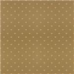 Papel Scrapbook Hot Stamping Litoarte SH30-048 30x30cm Corações Dourado Fundo Marrom