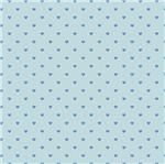 Papel Scrapbook Hot Stamping Litoarte SH30-051 30x30cm Corações Azul