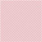 Papel Scrapbook Hot Stamping Litoarte SH30-029 30x30cm Xadrez Rosa