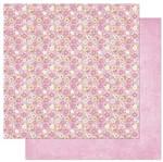 Papel Scrapbook Litoarte 30,5x30,5 SD-847 Florzinhas