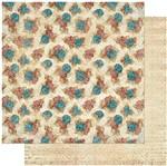 Papel Scrapbook Litoarte 30,5x30,5 SD-980 Padrão Flores Coloridas