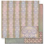 Papel Scrapbook Litoarte 30,5x30,5 SD1-029 Tarjas de Arabescos