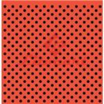 Papel Scrapbook Litocart 30,5x30,5 LSC-093 Preto e Laranja