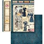 Papel Scrapbook Litocart 30,5x30,5 LSCD-441 Super Modelos